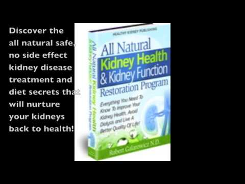 Heal Kidneys Safely And Naturally