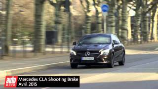 Mercedes CLA Shooting Brake : essai AutoMoto 2015