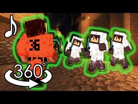No Control - Minecraft 360° Music Video - ORIGINAL SONG