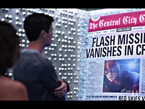 The Flash 5×01 Nora shows Barry the future thumbnail