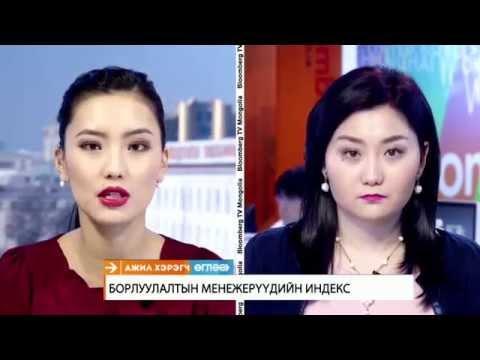 Bloomberg TV Reporting on the World Economics SMI: Mongolia - January 2015