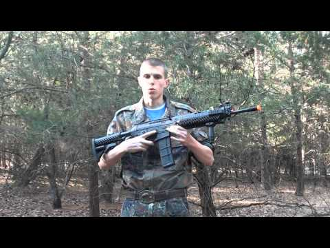 CyberGun/JP SIG 556 Airsoft AEG Review