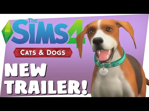 SIMS 4 CATS & DOGS - NEW *QUIZ* TRAILER!