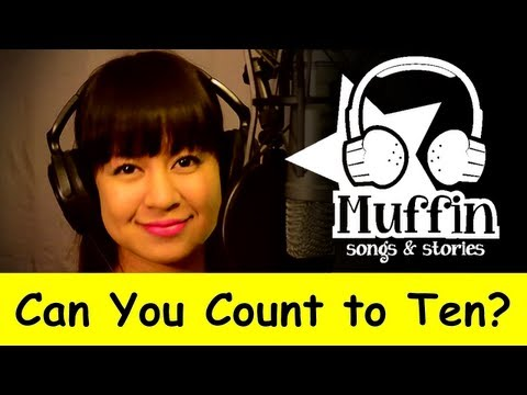 Muffin Songs - Can You Count to Ten? (Count Song)   nursery rhymes & childre