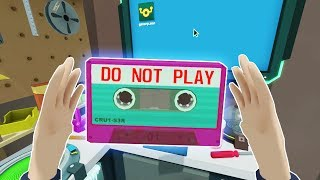 FINDING THE TOP SECRET MIX TAPE! - Rick and Morty Virtual Rick-ality VR 2018 Gameplay