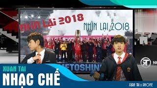 Nhìn lại 2018 ...   Mashup Nhạc chế Tổng hợp các sự kiện nổi bật năm 2018   Parody Hài Tết 2019