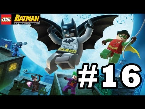 LEGO BATMAN Walkthrough Ep.16 W/Blitzwinger - Killer Moth Attacks 1/2