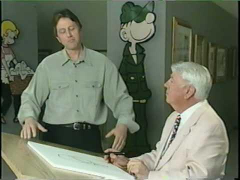 Walker Cartoonist Cartoonist Mort Walker And