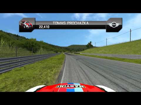 rFactor Mini Cup: USA - Lime Rock Park onboard preview