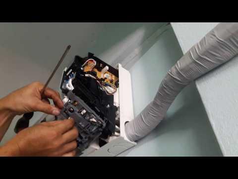 แนวทางการถอดคอยล์เย็นล้างแอร์บ้านMITSUBISHI รุ่น MS-GK13VA แบบง่ายๆ