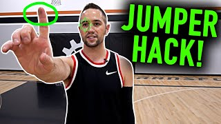 JUMPER HACK: A Five Second Trick to Make More Shots | Basketball Shooting Tips