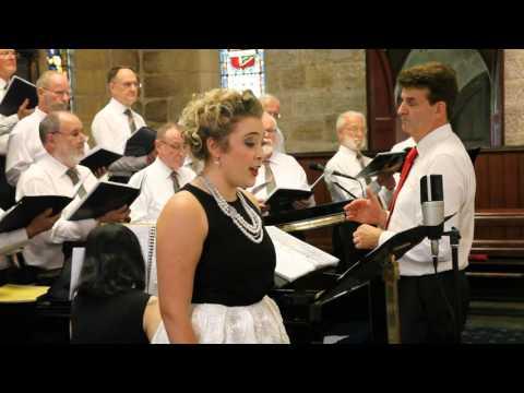Cantorion Sydney Male Voice Choir with Imogen-Faith Malfitano sing Unwaith Eto