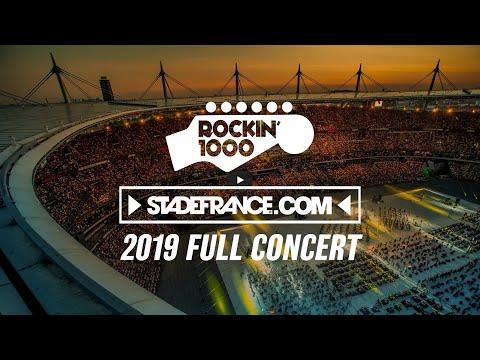 Download Rockin'1000 full concert at Stade de France, Paris 2019 Mp4 baru