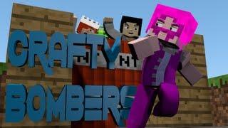 Minecraft Bomberman Minigame - Crafty Bombers! Ft. Gizzy Gazza, YoshiToMario, and Shelby!