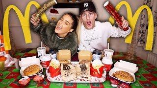 First To Finish McDonalds Christmas Menu Wins $3000 Challenge