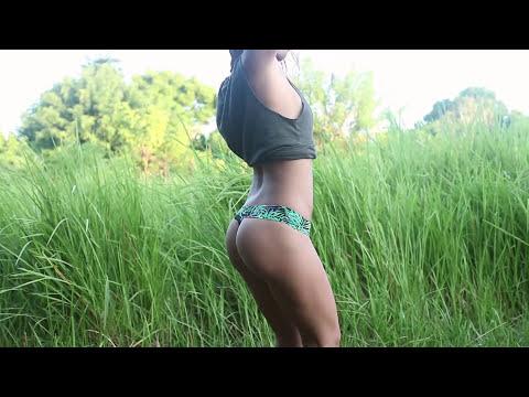 Marielle Landi Amazing Thong Bikini Butt