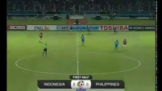 Indonesia vs Philippines (1-0) AFF Suzuki Cup 2010 Semi Final 2nd Leg