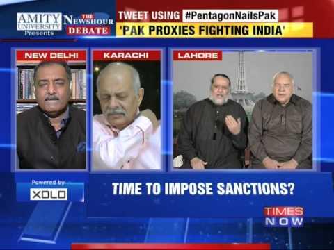 The Newshour  Debate: Pentagon Nails Pakistan - Part 1 (4th Nov 2014)