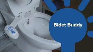 Bidet Buddy - The easy-to-use and easy to install toilet water system