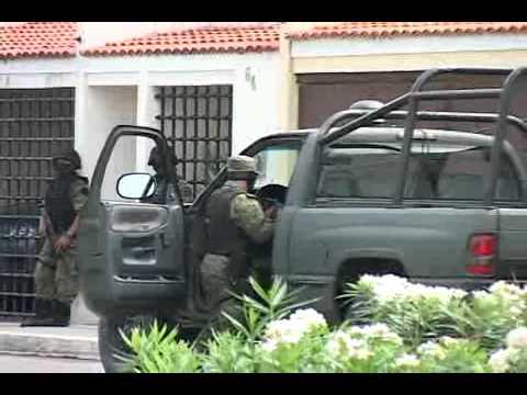 Las 4 casas cateadas, de donde hubo detenidos relacionados con el crimen organizado, se encuentran sin custodia policial