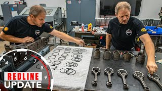 One wrong piston?!? Chevy Stovebolt 216 engine gets put back together | Redline Update #27