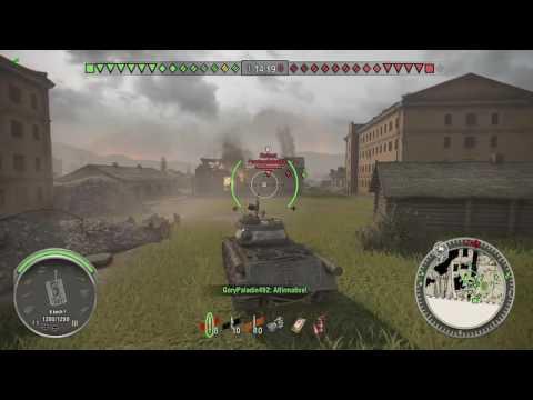World of Tanks Xbox one ISU-122S Through the pipe