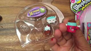 Shopkins Season 5 Toy Unboxing with Disney Princess Surprise eggs