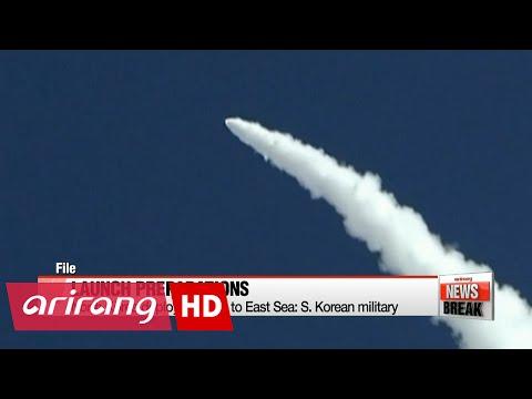North Korea deploys missile to East Sea