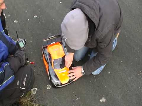 Kyosho Inferno GT Brushless Top Speed 143 km/h !!! Teil 2