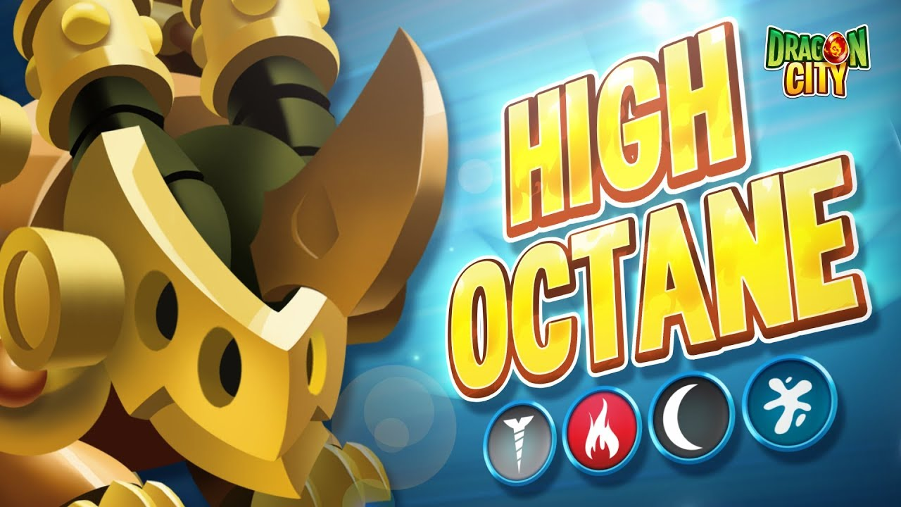 The High Octane Dragon!!  Heroic Race: Factory - Dragon City