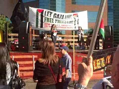 Westwood Hamas Rally