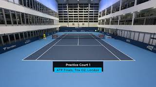 2019 Nitto ATP Finals: Live Stream Practice Court 1 (Monday)