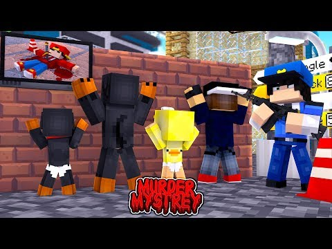 Minecraft Murder Mystery - WHO KILLED LITTLE ROPO?!