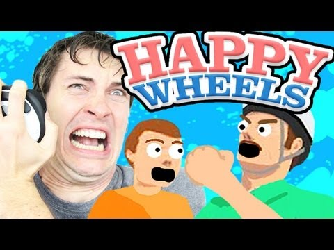 Happy Wheels - THE MOST FRUSTRATING LEVEL EVER