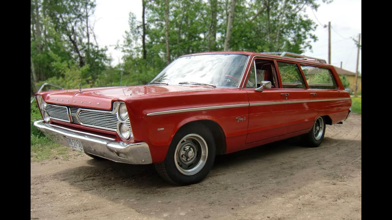Test Drive The 1966 Plymouth Fury Wagon Youtube