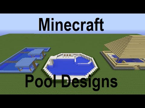 Minecraft Swimming Pool Designs And Ideas Live