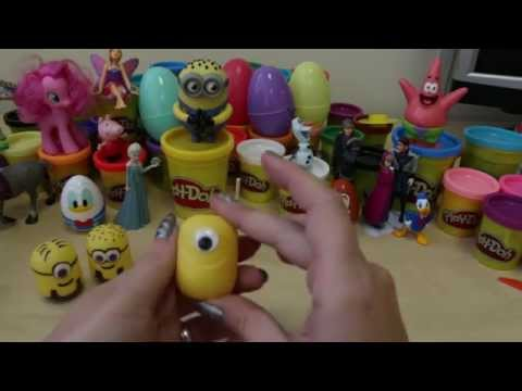 How To Make a Minion From a Kinder Egg Shell