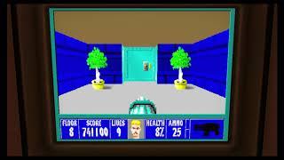 Wolfenstein 3D Episode 6 Floor 8