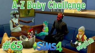 Sims 4 - A-Z Baby Challenge #65 - english - Trick or Treat with funny costumes
