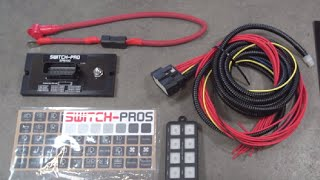 Accessory Switch System: Switch-Pros 8-Switch Panel Power System