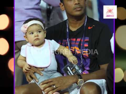 Cute Saira with Mom Lara Dutta and Dad Mahesh Bhupathi