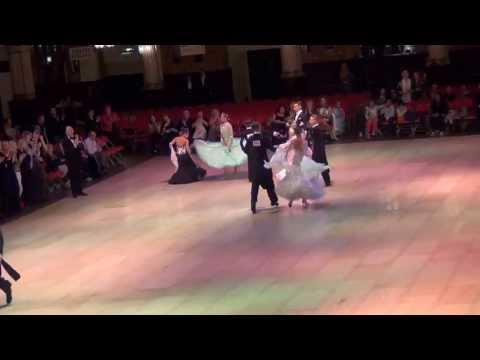 Blackpool 2013 Junior Ballroom Quickstep Final