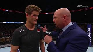 Fight Night Austin: Sage Northcutt Octagon Interview