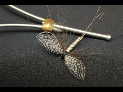Spent Mayfly with Wally wing (dry fly)