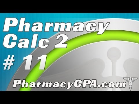 Pharmaceutical Calculations 2