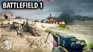 BATTLEFIELD 1 - 10 Minutes of New Multiplayer Gameplay! Operations Mode!