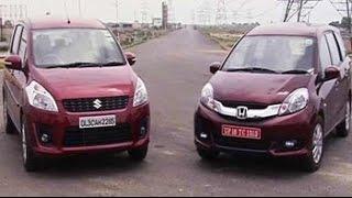 Car And Bike Show - Mobilio vs Ertiga and facelifted Polo