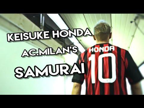Keisuke Honda AC.Milan's Samurai