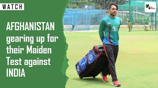 Watch: Rashid Khan inspires Afghanistan ahead of its maiden test against India | INDvAFG | BCCI
