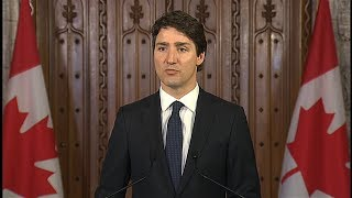 Toronto van attack Prime Minister Justin Trudeauвs statement